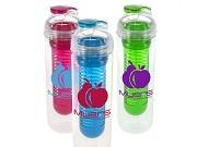 Garrafa de água para infusões de fruta