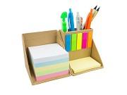 Cubo com notas adesivas
