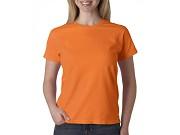 T-shirt Cor de Senhora Manga Curta | 180 Gramas