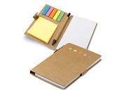 Bloco de Notas com Post-its