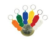 Porta-chaves moeda