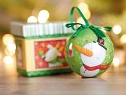 Bola de Natal Santy