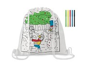 Saco tipo-mochila Paint & Go