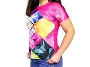 T-shirt Sublimada de Mulher