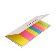 Bloco de Notas Adesivas Coloridas