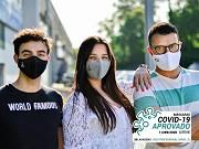 Máscara 100% Algodão Orgânico   Nível 2