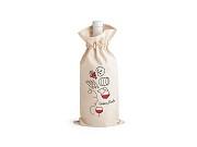Saco para garrafa 100% algodão