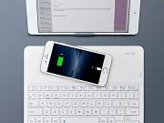 Teclado sem Fios Bluetooth e Carregador Link