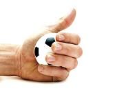 Bola de futebol anti-stress