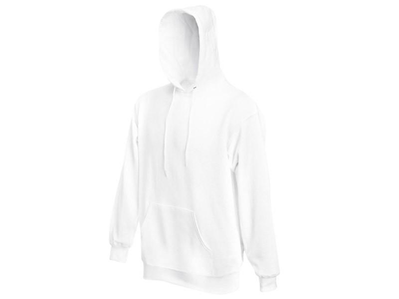 Sweatshirt Branca com Bolso Frontal
