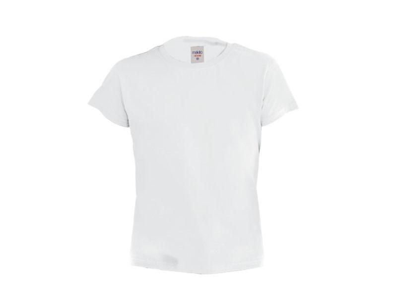 T-Shirt Branca de Criança Hecom | 135 Gramas