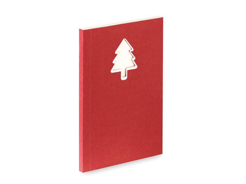 Bloco de Notas de Natal Vaides A6
