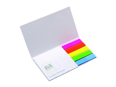 Sticky Notes Bloco Bic Flag e Notepad