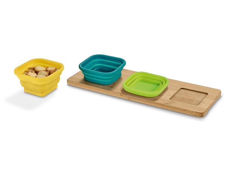 Base de mesa com 3 taças