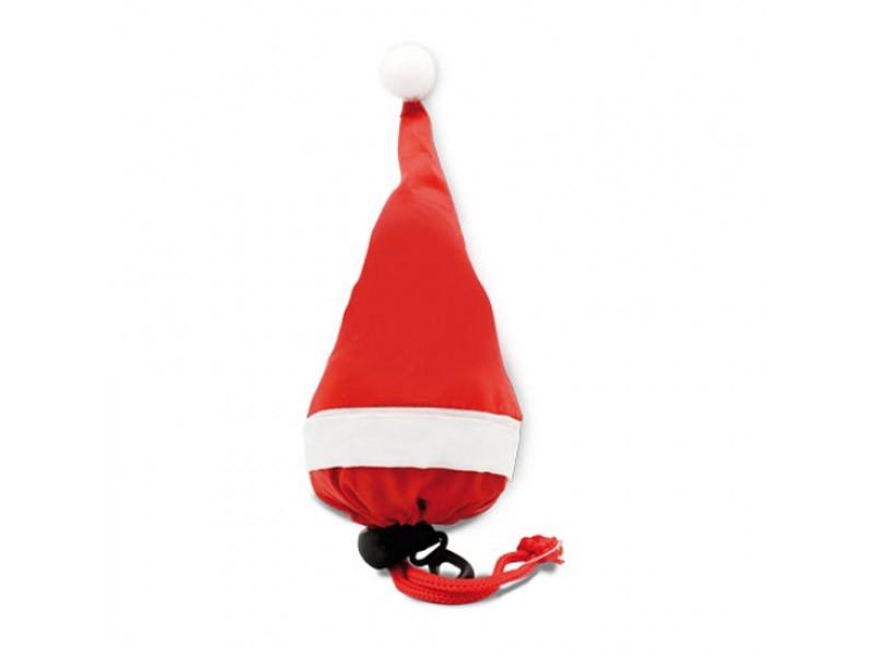 Saco dobrável gorro de Natal