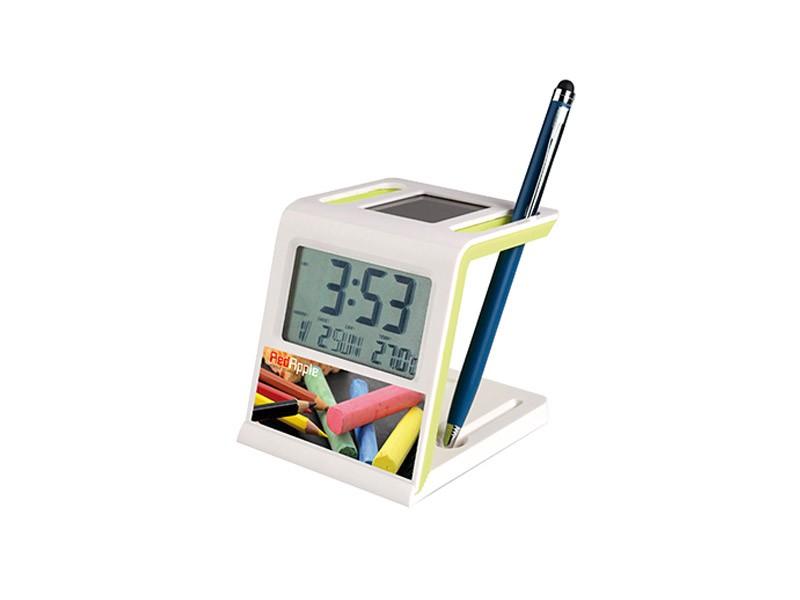 Despertador e termómetro
