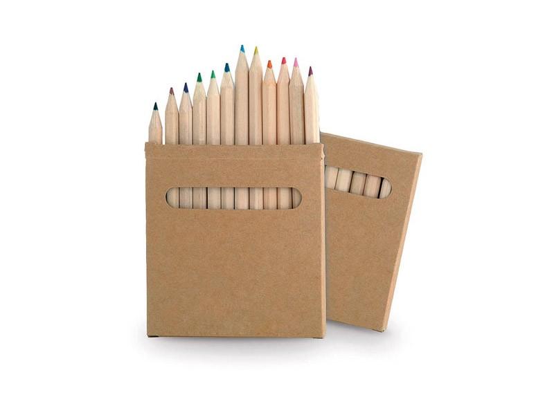 Caixa lápis de cor