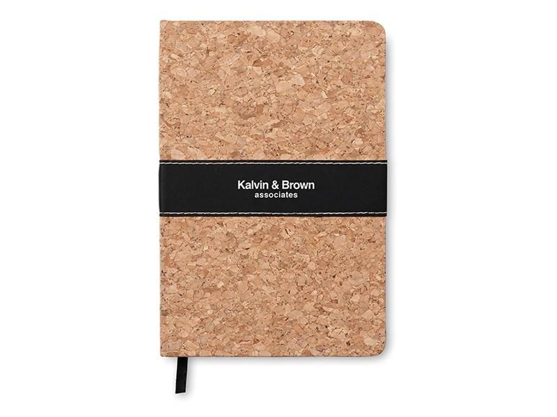 Caderno A5 de Cortiça