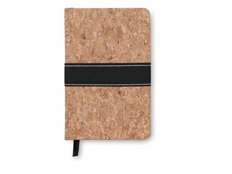 Caderno A6 de Cortiça