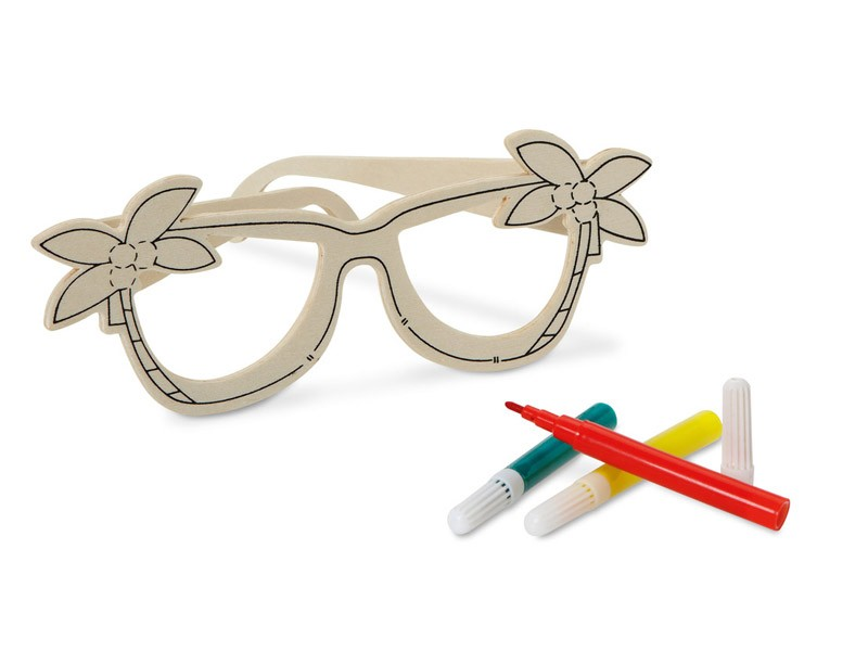 Óculos para Colorir  Breli