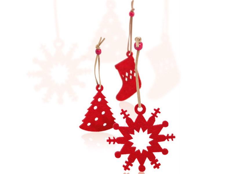 Conjunto Enfeites de Natal Sensi