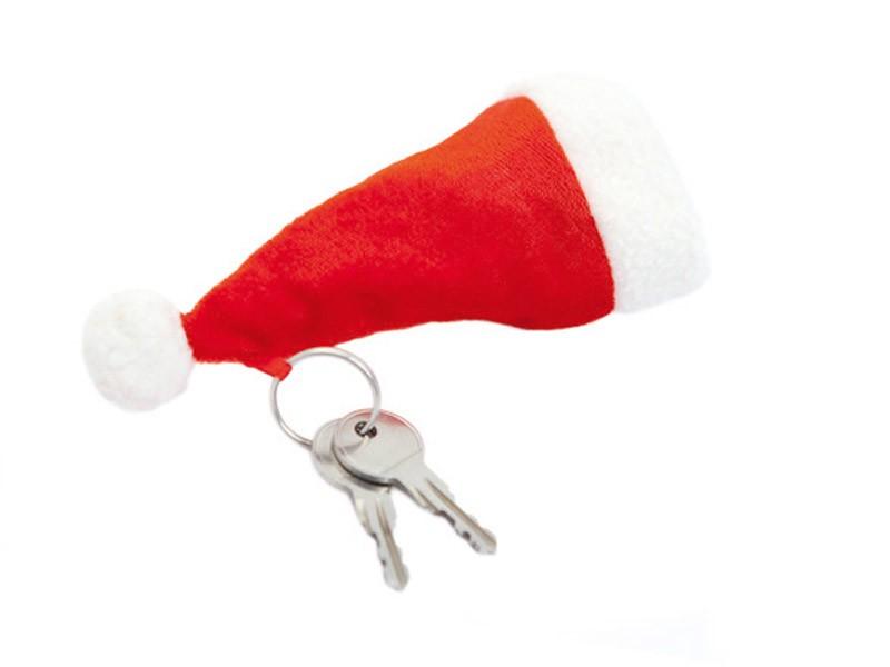 Porta-chaves Gorro Natal