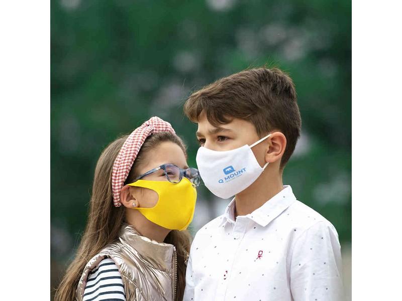 Máscara higiénica para criança