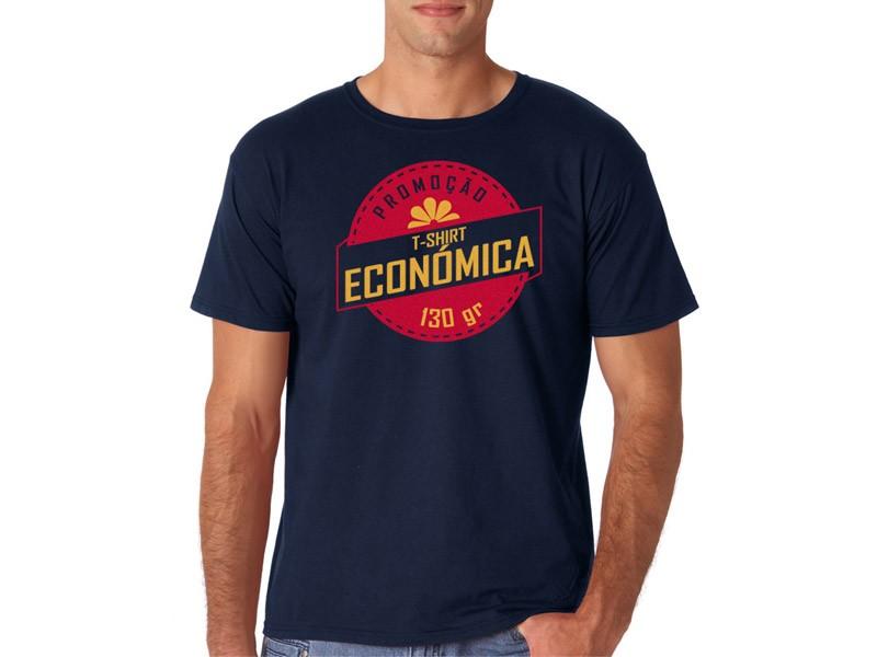 T-shirt Cor Homem Económica | 130 - 140 Gramas