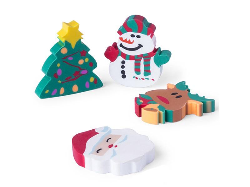 Conjunto de Borrachas de Natal Flop