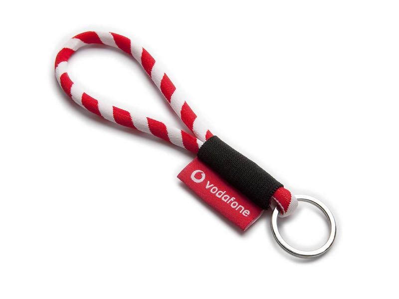 Fita lanyard cordão com etiqueta
