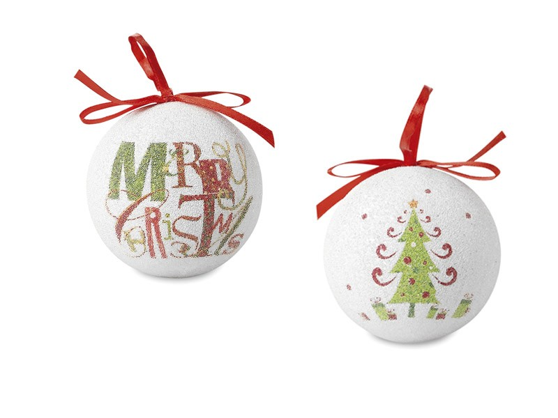 Bola de Natal Blanca