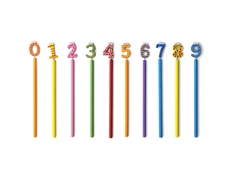 Lápis Números