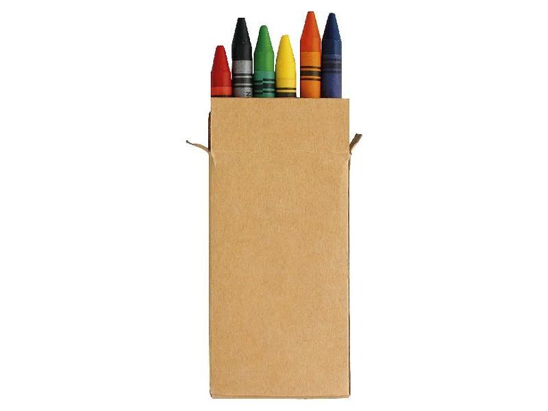 Caixa lápis de cera