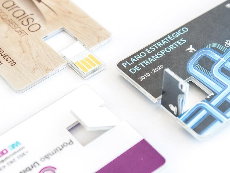 Cartão USB Wafer