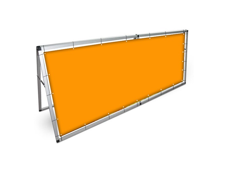 Outdoor Barrier Banner