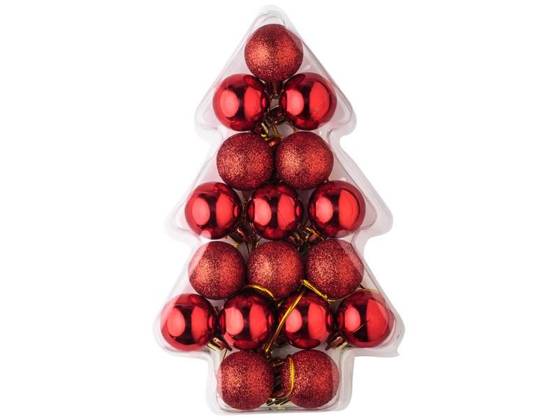 Conjunto de Bolas de Natal