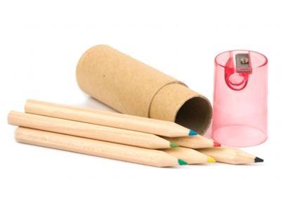 Tubo lápis de cor