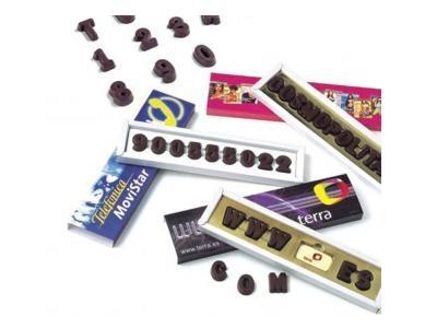 Letras de chocolate